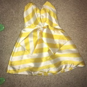Cute yellow and white dress